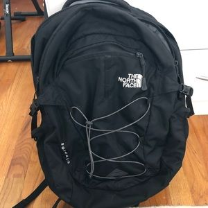 Black North Face Borealis Laptop Backpack